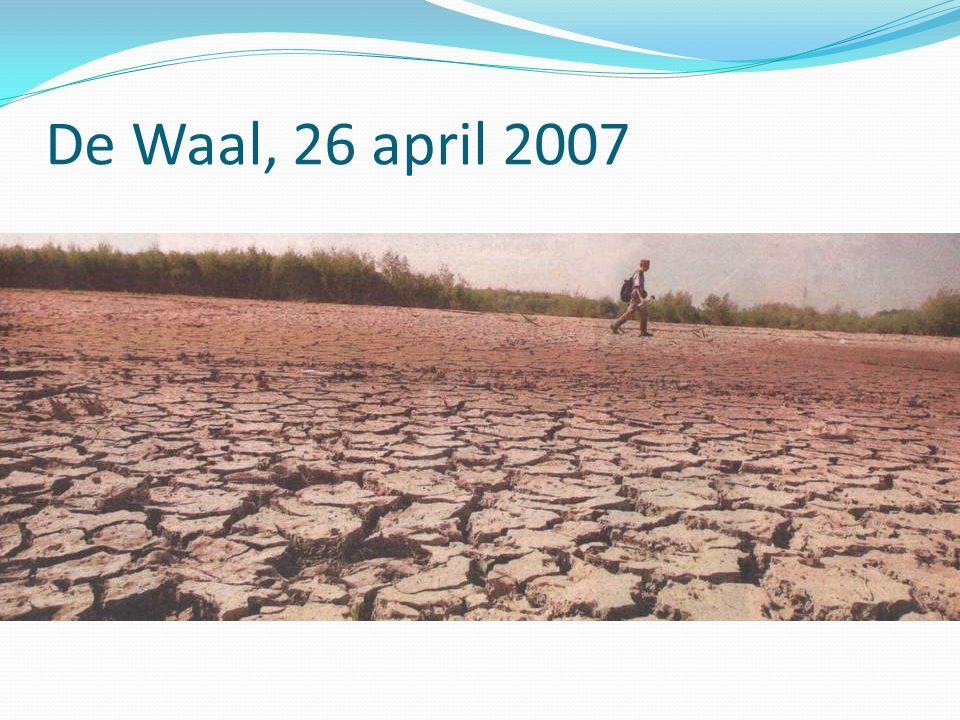 De Waal, 26 april 2007