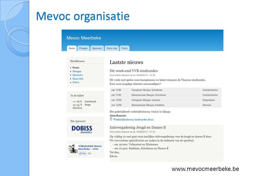 Mevoc organisatie www.mevocmeerbeke.be
