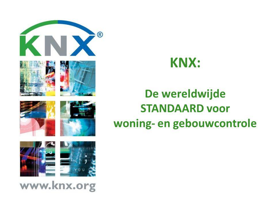 KNX is de Standaard CENELEC EN 50090 – de enige Europese Standaard voor Elektronische Huis- en gebouwsystemen (HBES) gebaseerd op KNX.