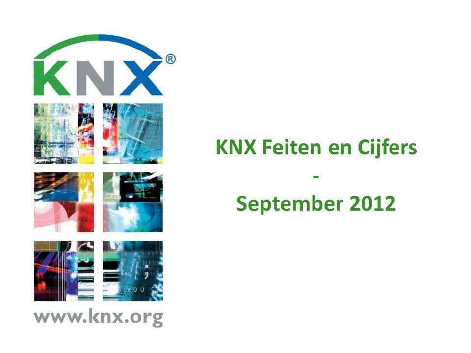 KNX Feiten en Cijfers - September 2012