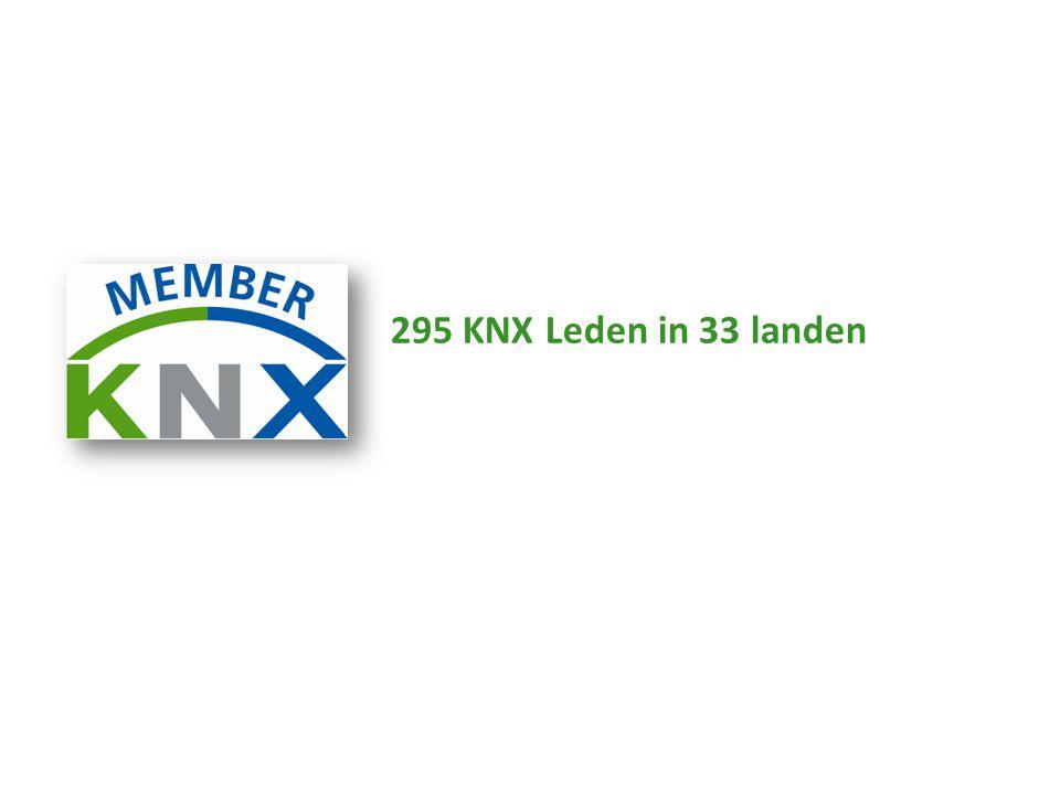 295 KNX Leden in 33 landen
