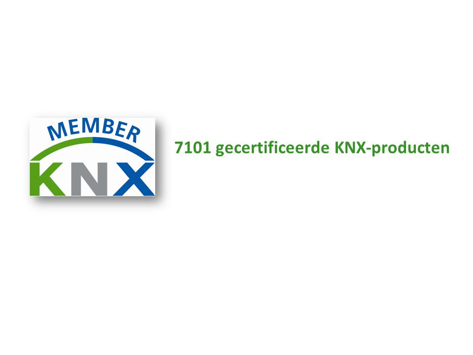 7101 gecertificeerde KNX-producten