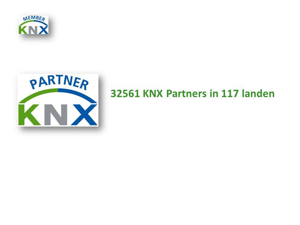 32561 KNX Partners in 117 landen