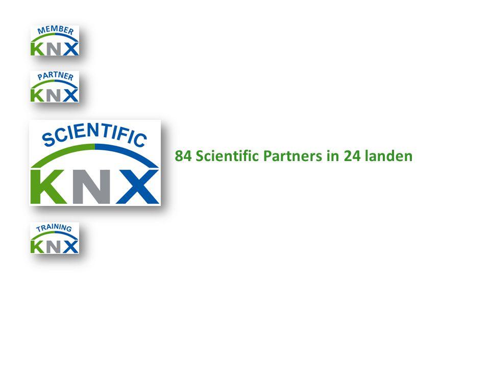 84 Scientific Partners in 24 landen