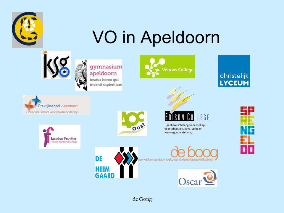 de Gong VO in Apeldoorn
