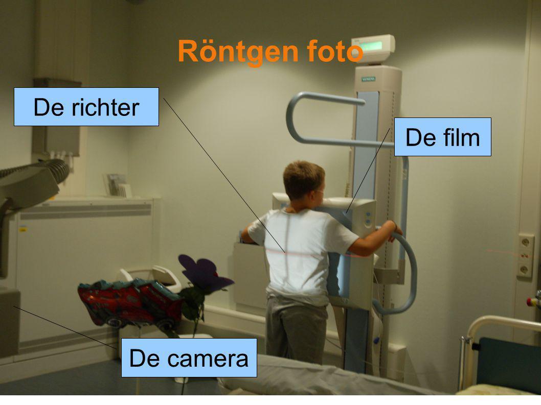 De film Röntgen foto De camera De richter