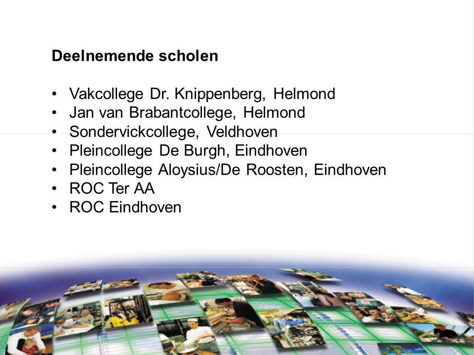 Deelnemende scholen Vakcollege Dr.