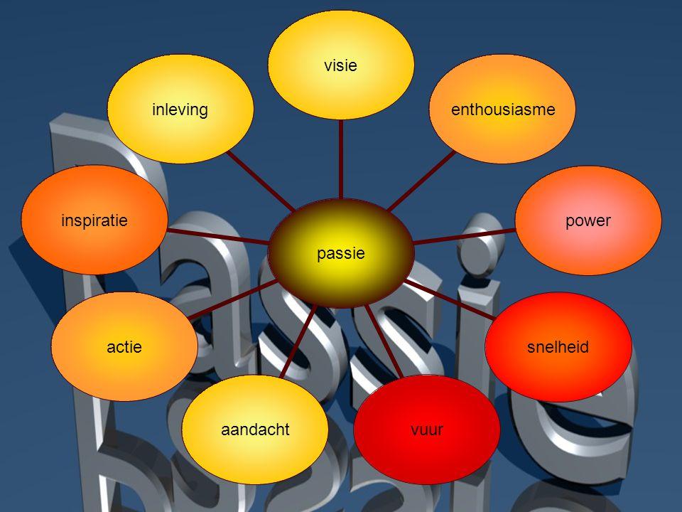 passie visieenthousiasmepowersnelheidvuuraandachtactieinspiratieinleving