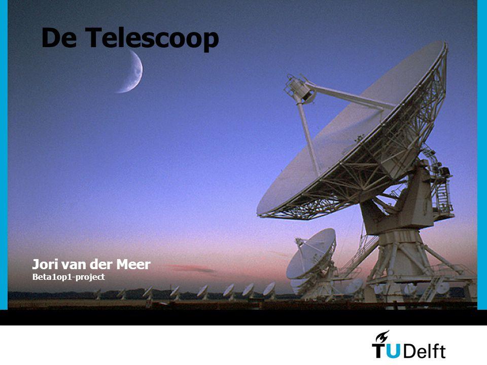 De Telescoop Jori van der Meer Beta1op1-project
