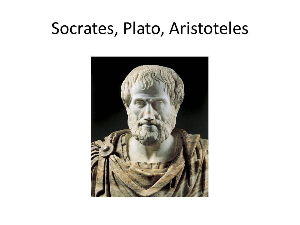 Socrates, Plato, Aristoteles