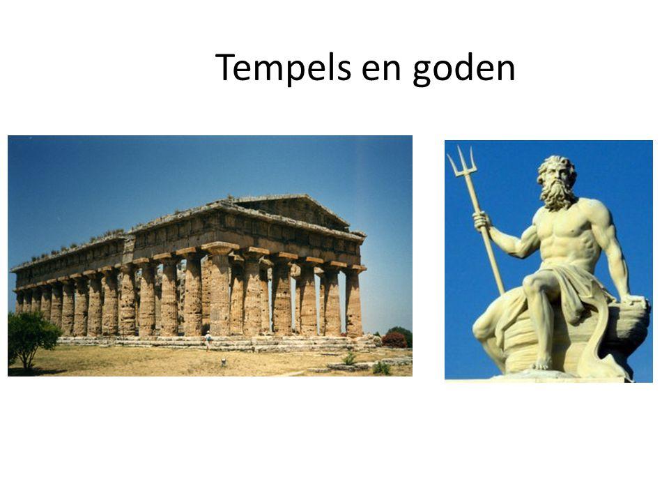 Tempels en goden