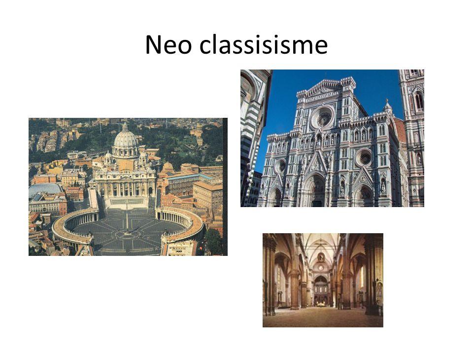 Neo classisisme
