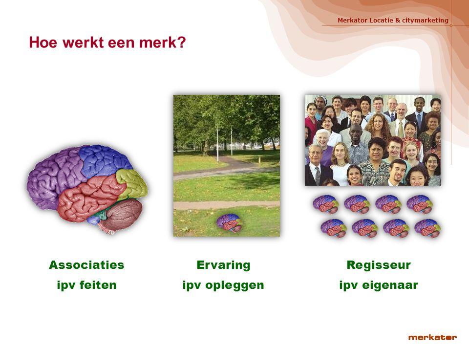 Associaties ipv feiten Regisseur ipv eigenaar Ervaring ipv opleggen Hoe werkt een merk? 9