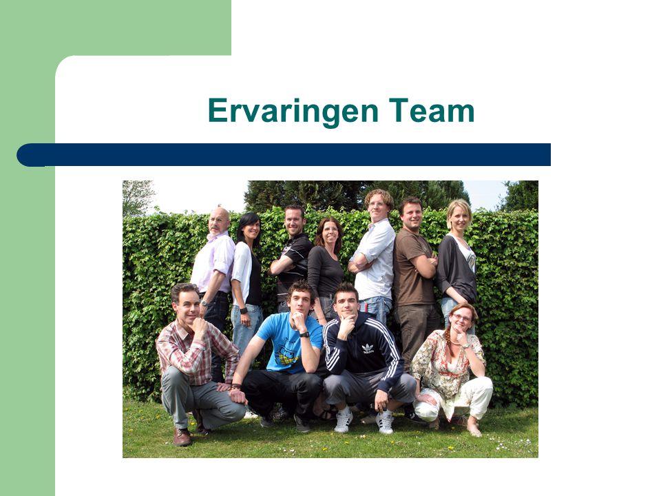 Ervaringen Team