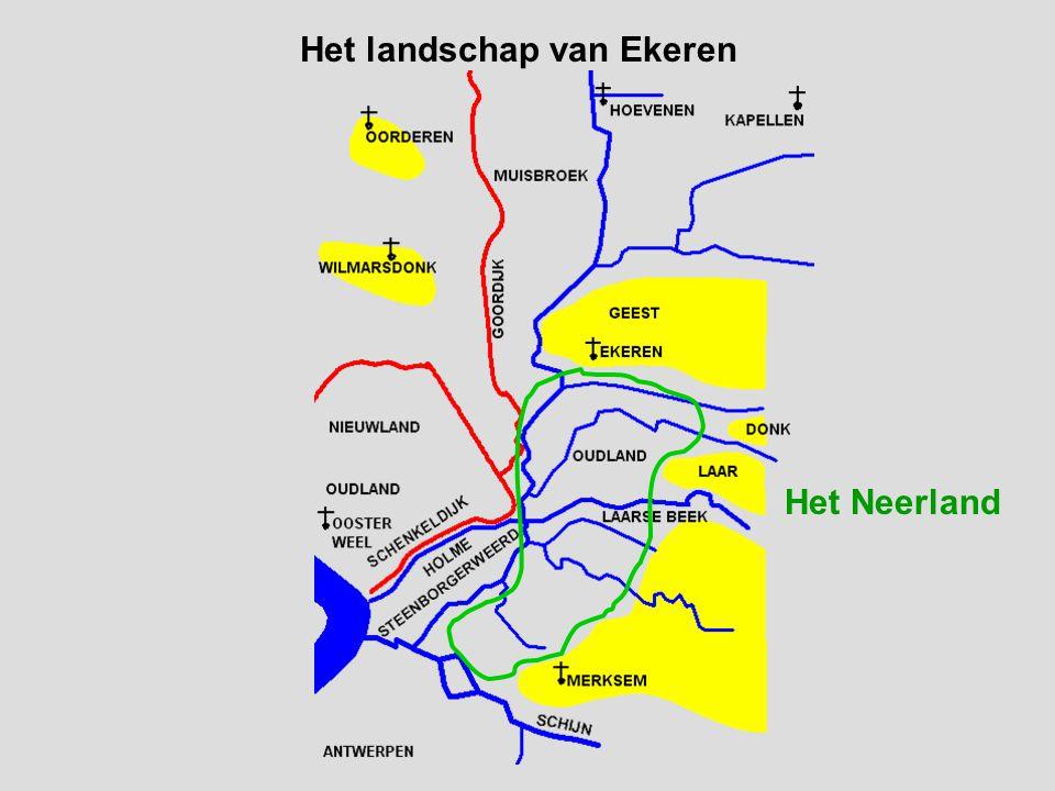 Het landschap van Ekeren Het Neerland