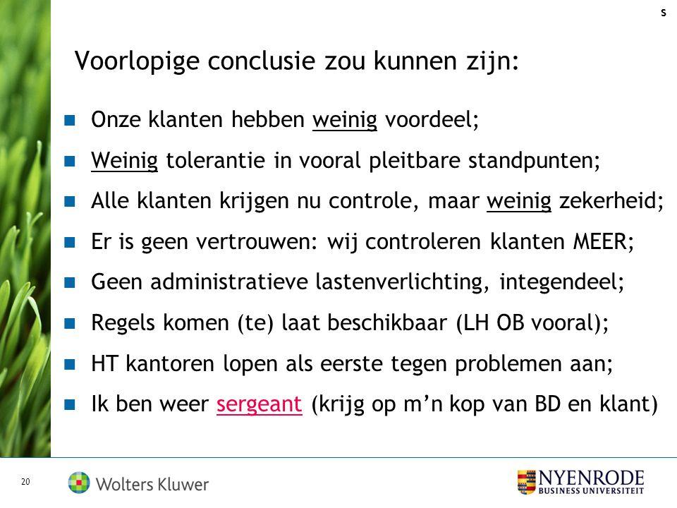 Praktijkgeval: we zijn het niet eens (ada) 19 Aangifte IB 2008 concept klaar: 28 september 2009 (Omzet > € 150.000 - BI > € 90.000,-) Aanmelding vooro