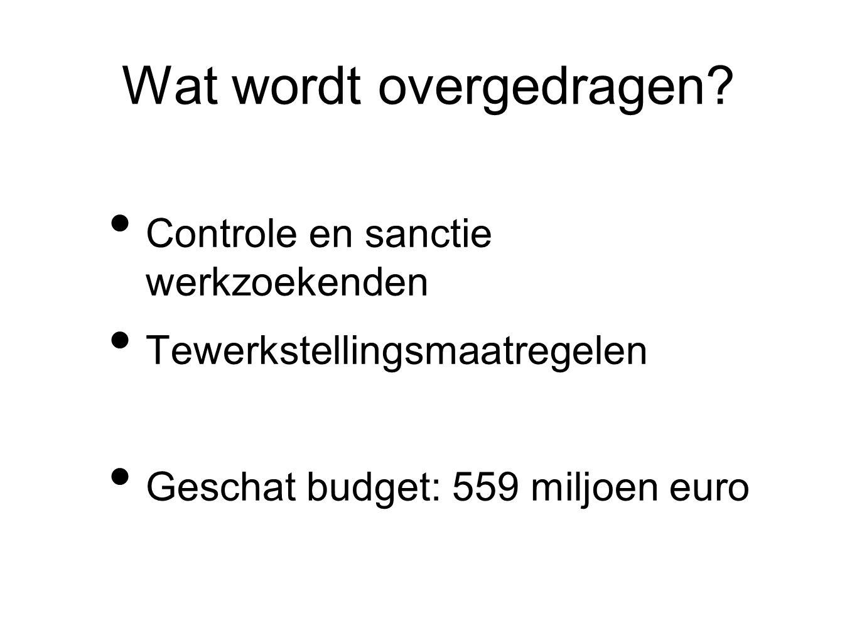 Wanneer? 1 juli 2014? 31 december 2014? Wetgevend kader in Brussel nodig