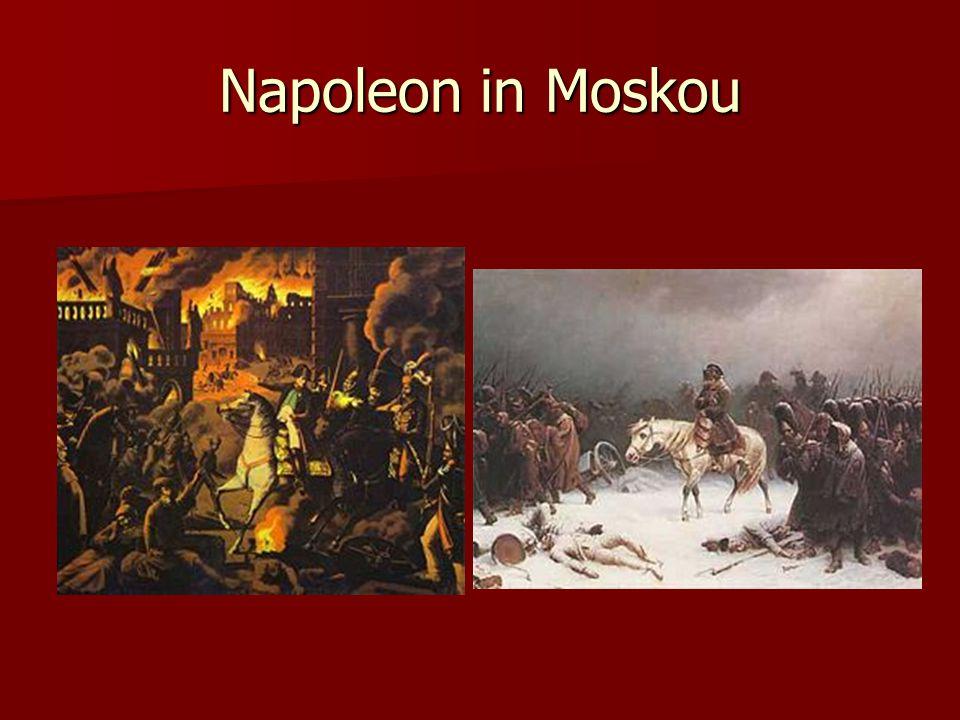 Napoleon in Moskou