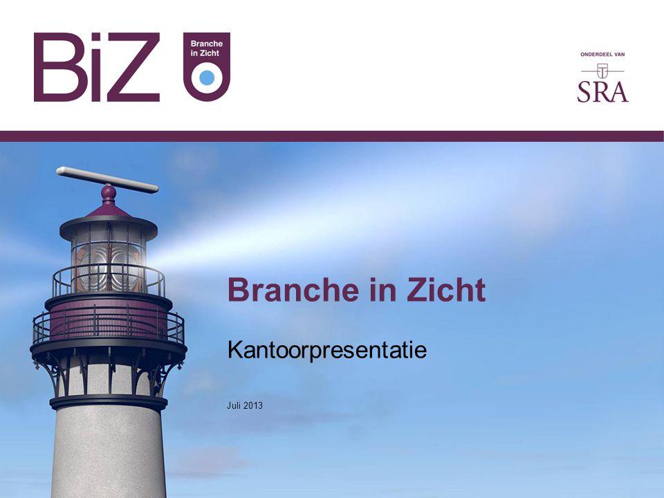 Branche in Zicht Kantoorpresentatie Juli 2013