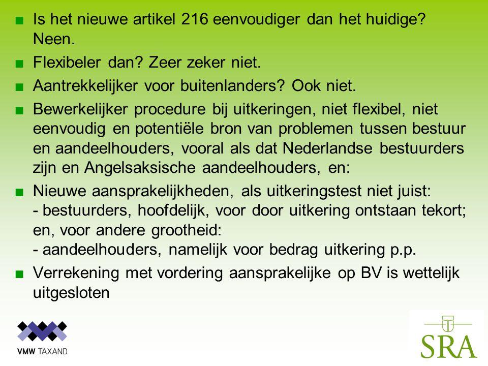 ■Is het nieuwe artikel 216 eenvoudiger dan het huidige.