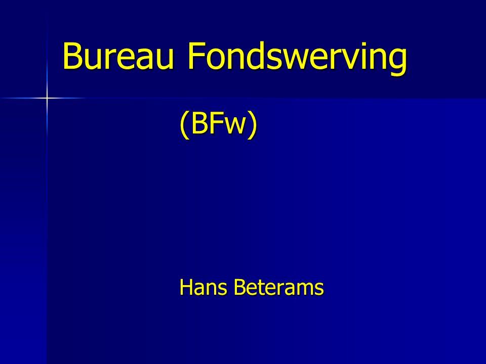 Bureau Fondswerving (BFw) Hans Beterams