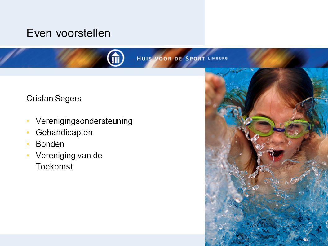 Even voorstellen Cristan Segers Verenigingsondersteuning Gehandicapten Bonden Vereniging van de Toekomst