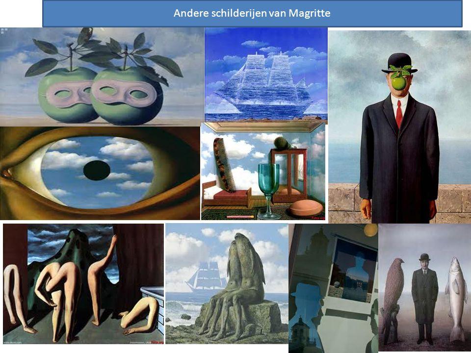 SCHILDERIJEN Andere schilderijen van Magritte