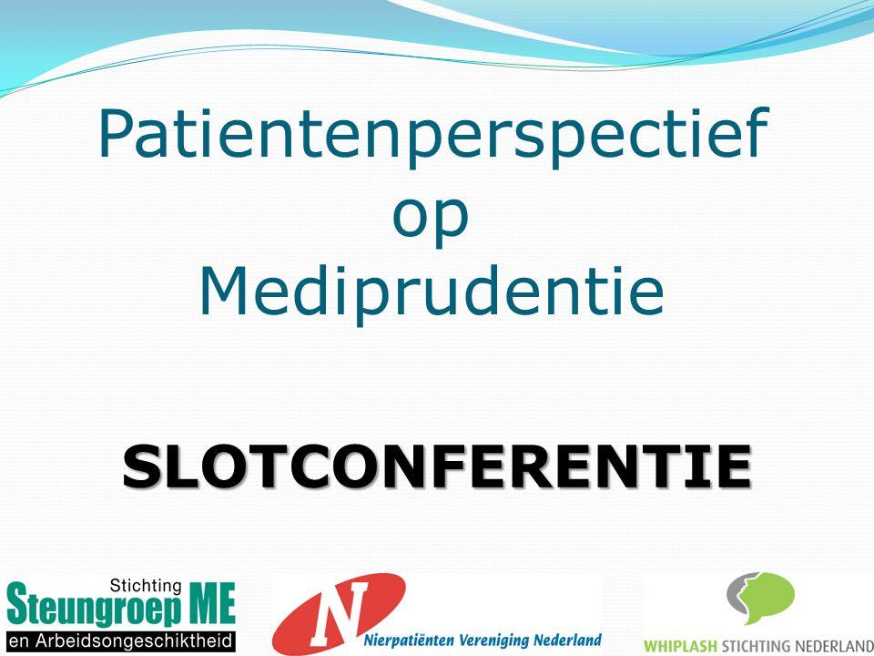 Patientenperspectief op Mediprudentie SLOTCONFERENTIE