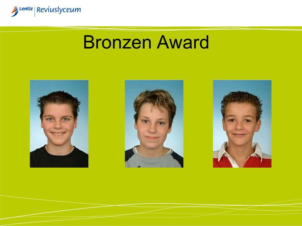 Bronzen Award