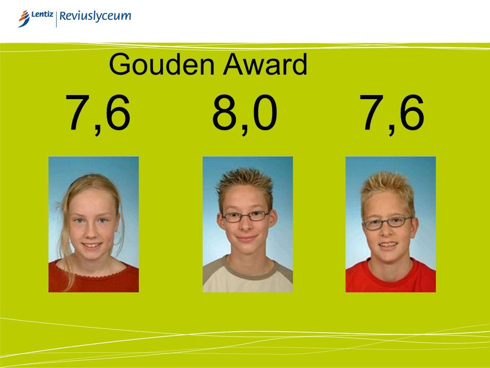 Gouden Award 7,68,07,6