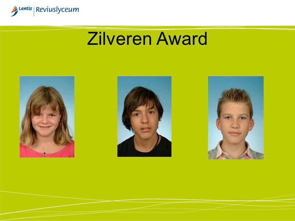 Zilveren Award