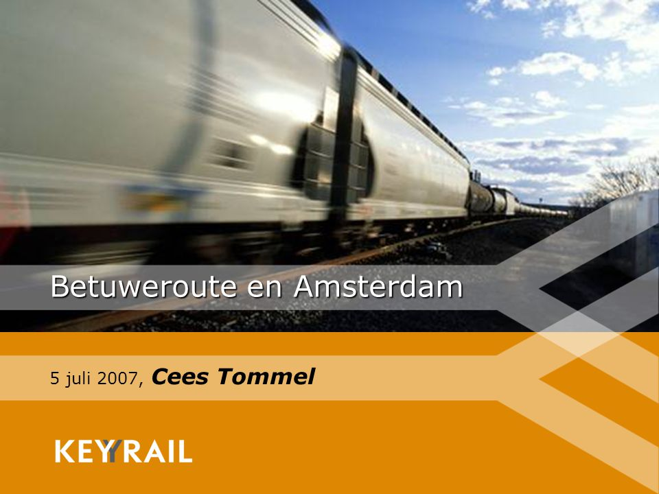 1 Betuweroute en Amsterdam 5 juli 2007, Cees Tommel
