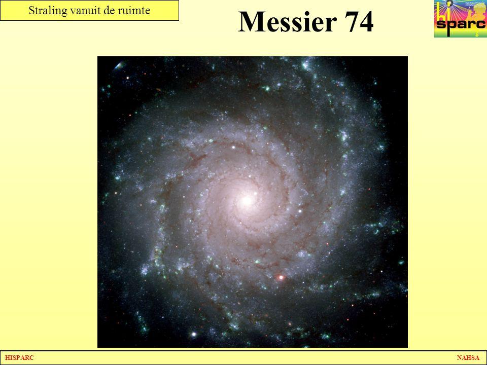 HISPARC NAHSA Straling vanuit de ruimte Messier 74