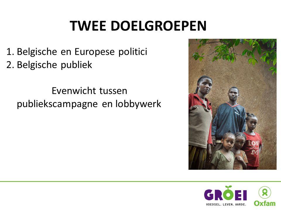 ALGEMENE EIS Belgische en Europese politici moeten dringend hun beleid veranderen.