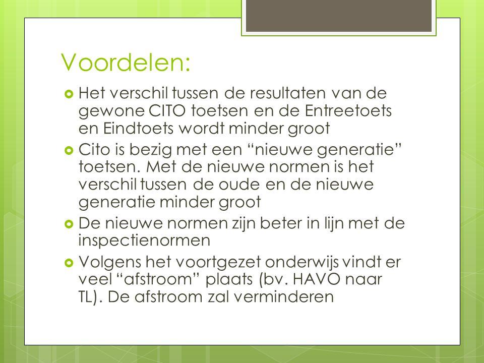Tot slot: Deze vernieuwde normering wordt door heel Nederland doorgevoerd.