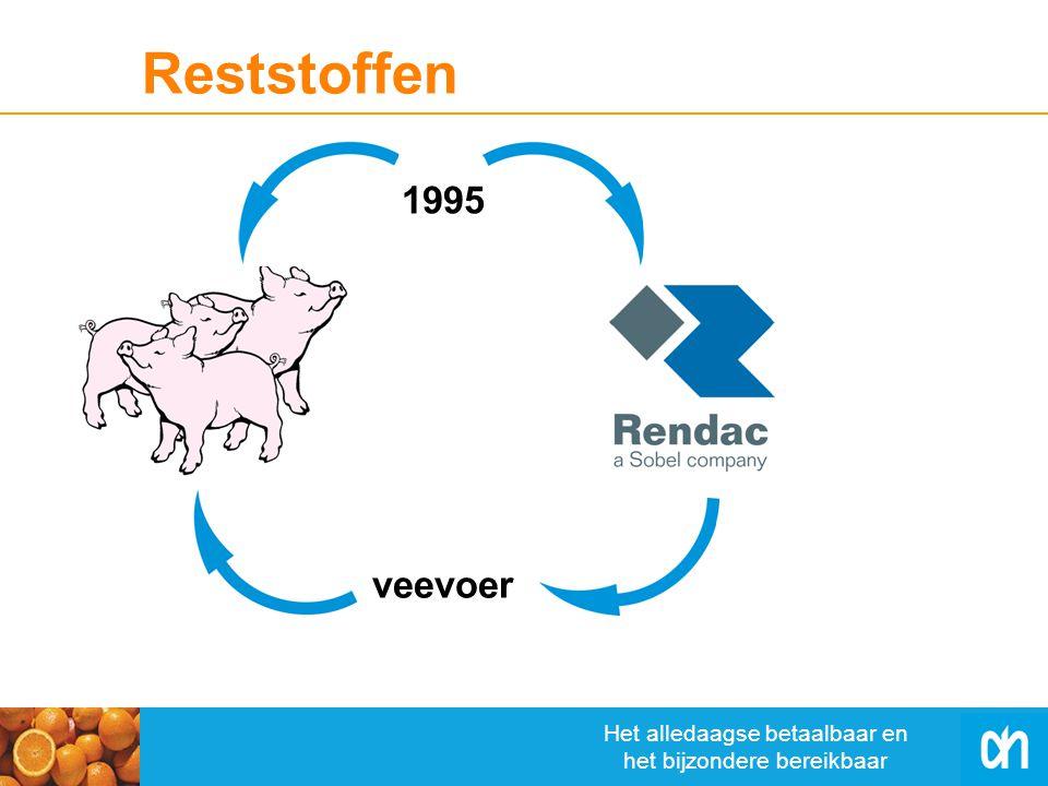 Het alledaagse betaalbaar en het bijzondere bereikbaar veevoer Reststoffen 1995