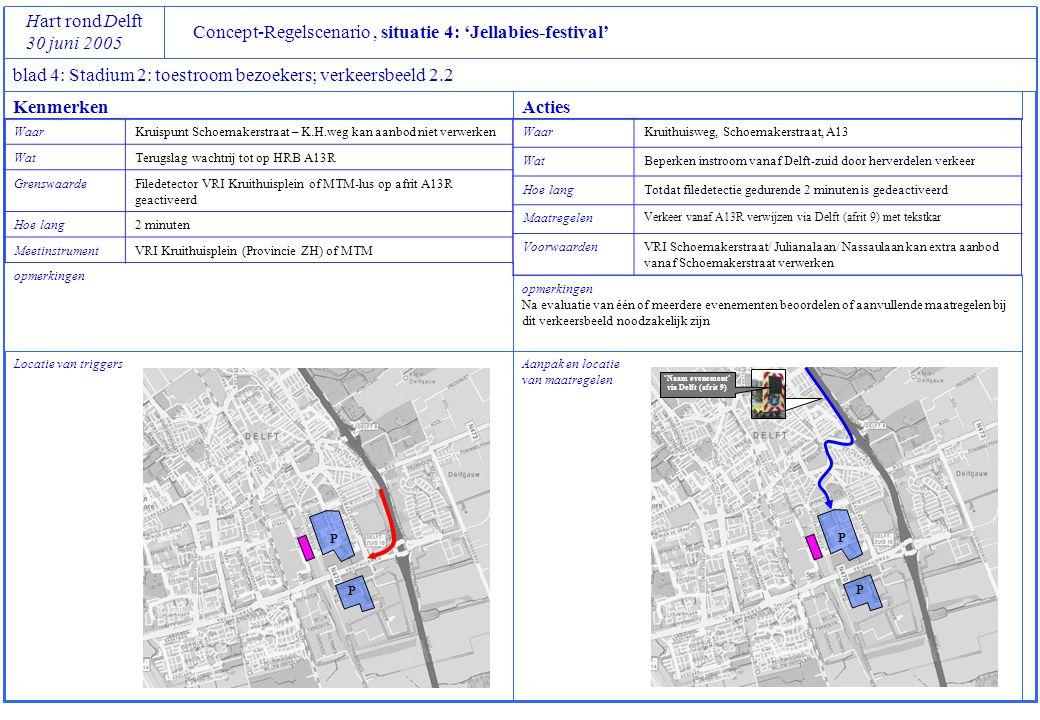 opmerkingen Na evaluatie van één of meerdere evenementen beoordelen of aanvullende maatregelen bij dit verkeersbeeld noodzakelijk zijn Concept-Regelsc