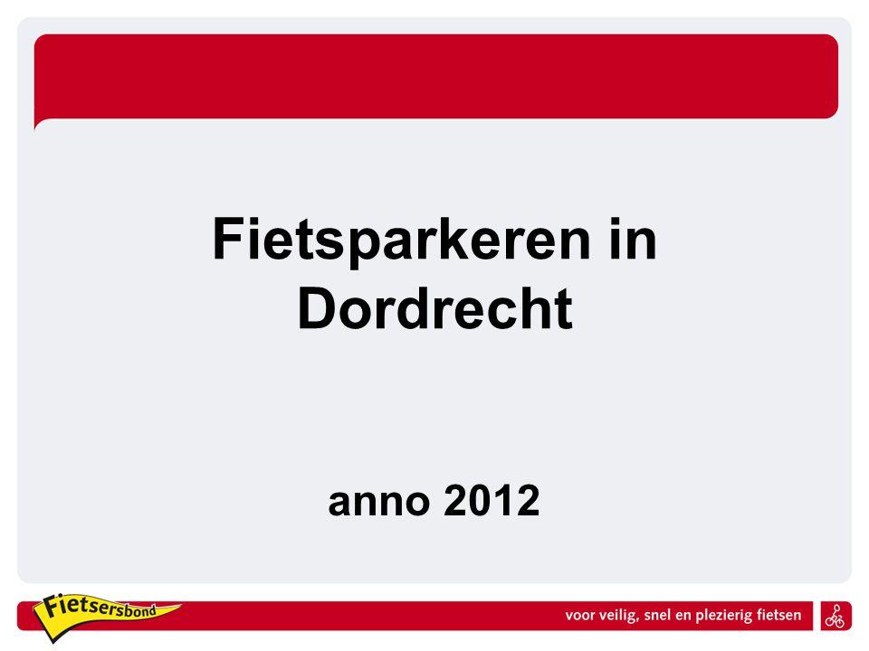 Fietsparkeren in Dordrecht anno 2012