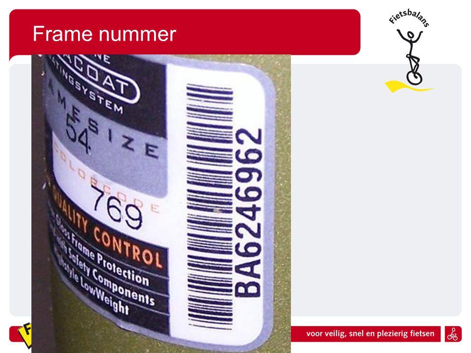 Frame nummer