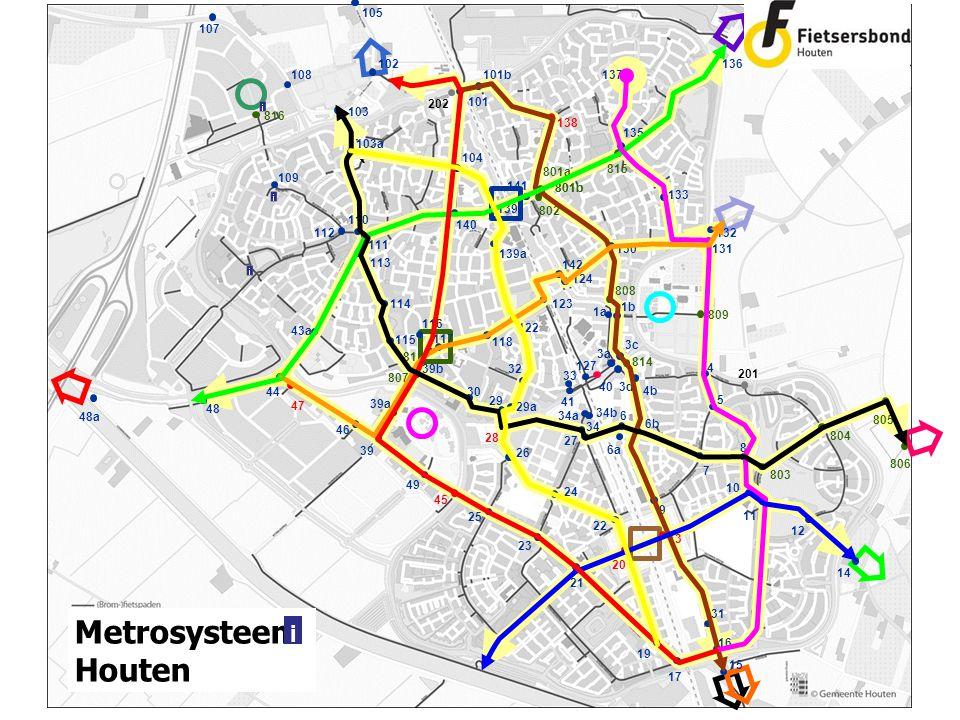 ` 801b 201 ` Metrosysteem Houten i