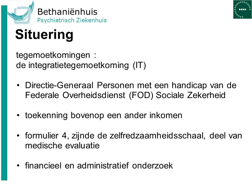 Bethaniënhuis Psychiatrisch Ziekenhuis Verschil tussen controle in of buiten het ziekenhuis.
