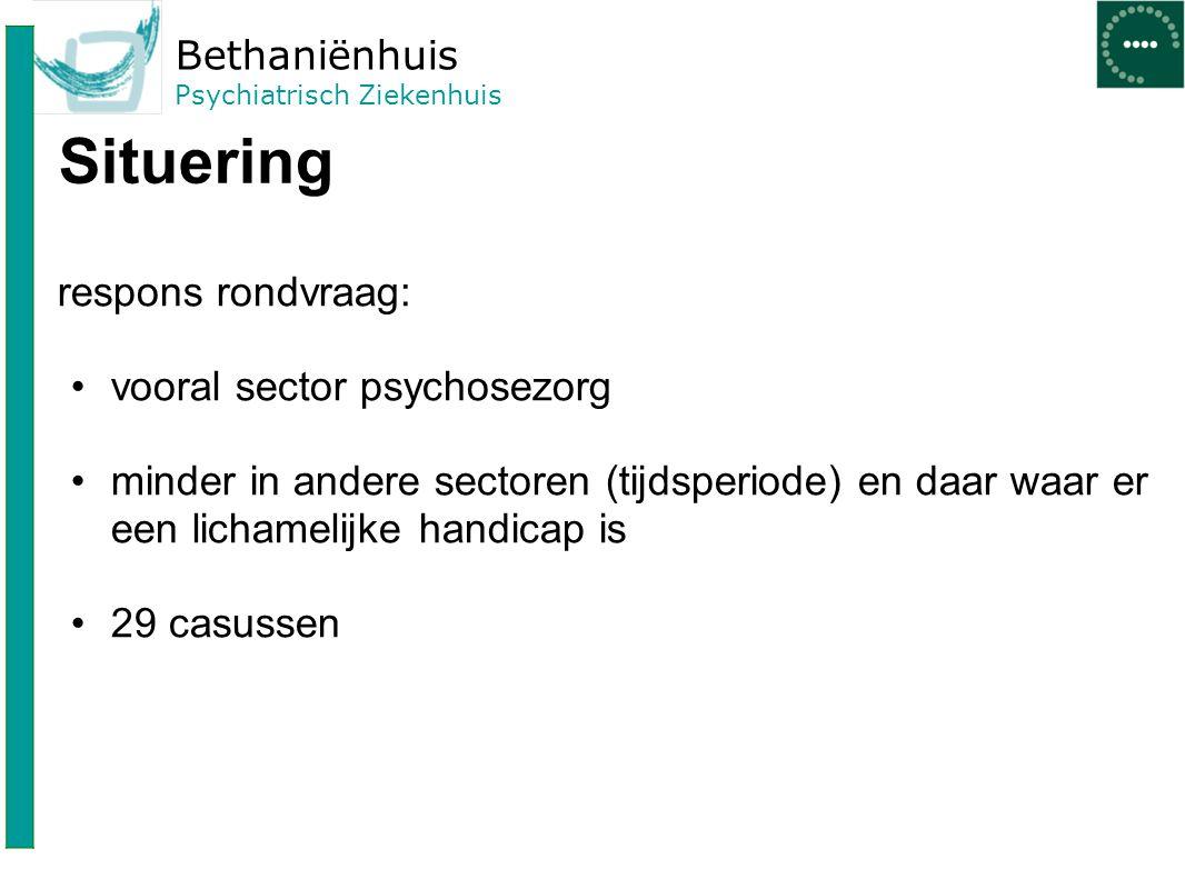 Bethaniënhuis Psychiatrisch Ziekenhuis Speelt geslacht een rol.