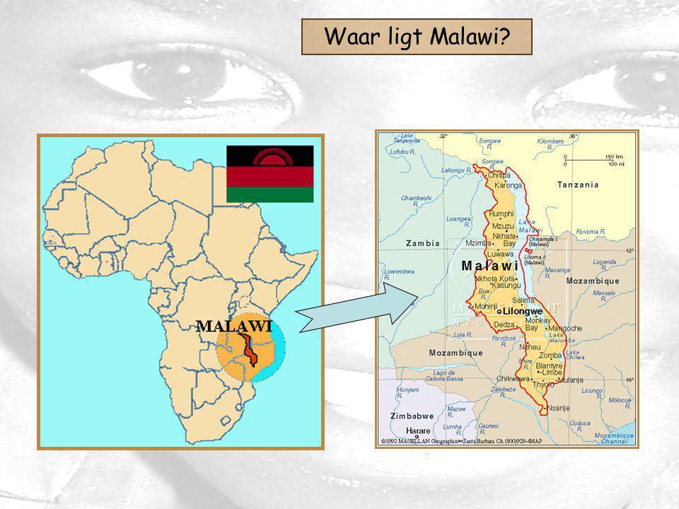 Waar ligt Malawi?