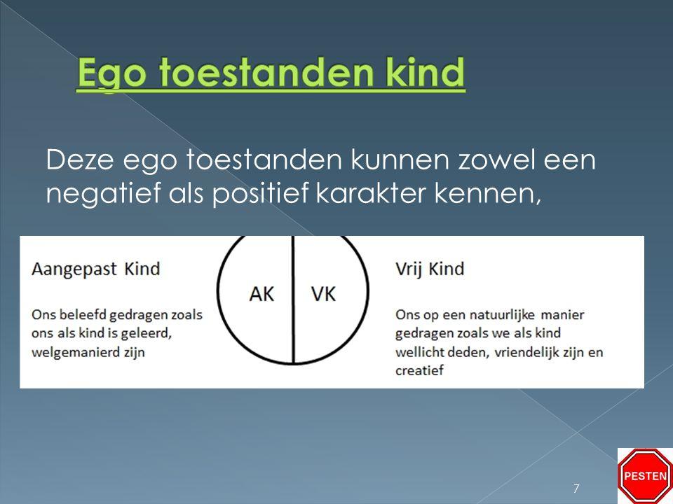 Deze ego toestanden kunnen zowel een negatief als positief karakter kennen, 7