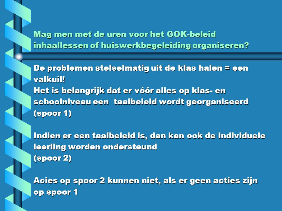Wat zijn de criteria voor goede lesmethodes om een taalbeleid op te zetten.