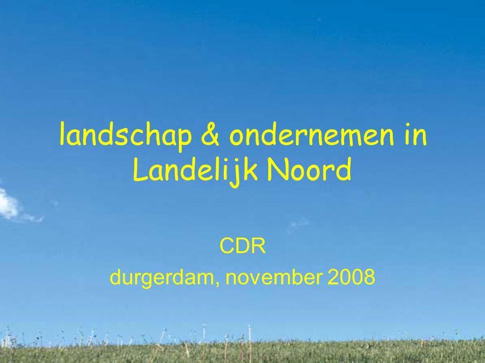 landschap & ondernemen in Landelijk Noord CDR durgerdam, november 2008
