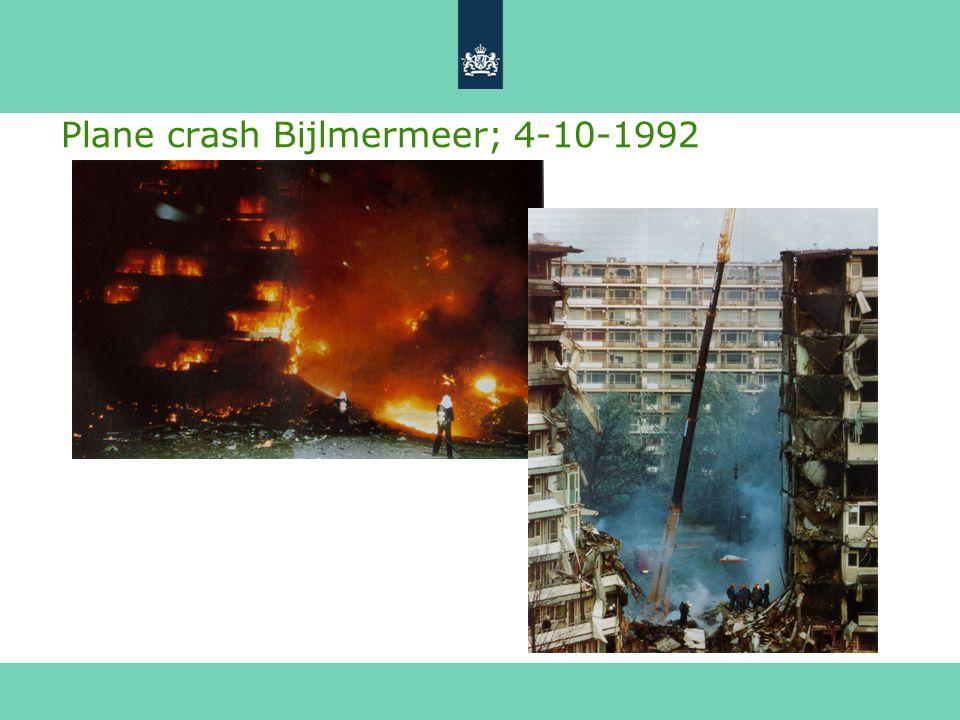 Plane crash Bijlmermeer; 4-10-1992