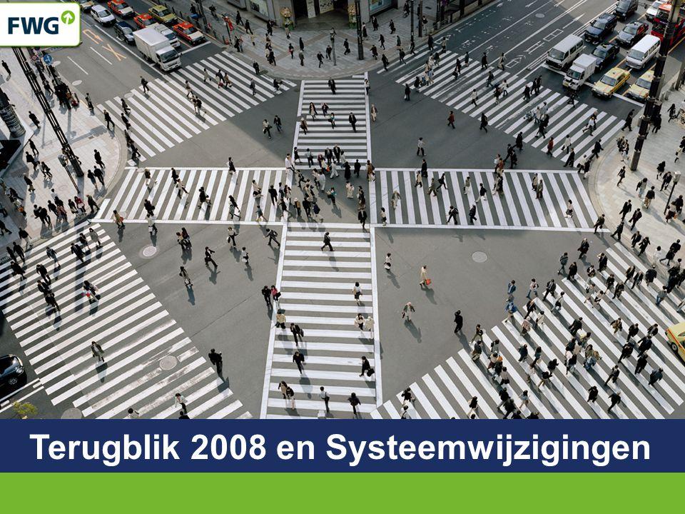 Terugblik 2008 en Systeemwijzigingen