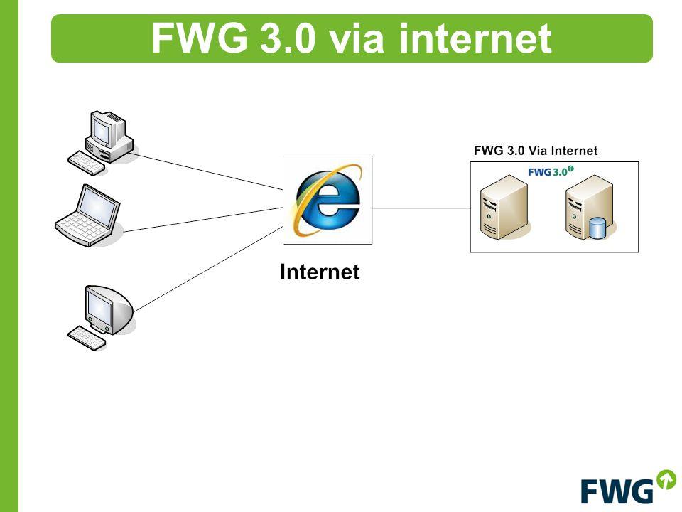 FWG 3.0 via internet