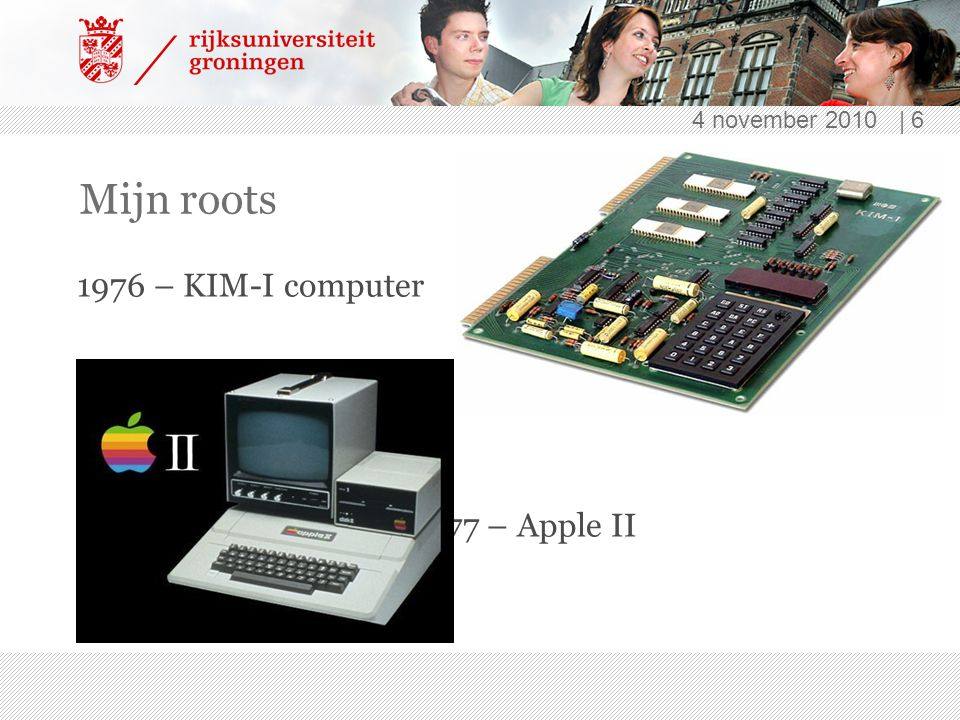 4 november 2010   7 Na wat omzwervingen 1991 – NMR technicus + beheerder 12 Unix-machines 1993 – WWW 1994 – Reserveringssoftware http://linuxnmr02.chem.rug.nl/index.html